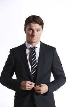 Antoine Roussel. That man cleans up nice!