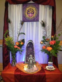 altar for Ganesha