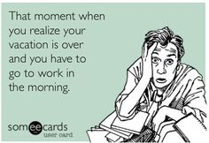 End of vacation ecard