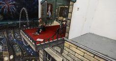 1. A criatividade dos artistas de rua não tem limite! Alguns criam verdadeiros portais para outras dimensões usando apenas tinta e giz. Confira 40 exemplos realistas de desenhos 3D feitos para dar mais vida a lugares comuns