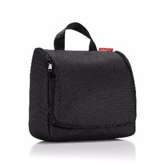 Reisenthel Black Foldable Toilet Bag: The toilet bag has one main compartment with 4 pockets as well as two zipped pockets for smaller items - along with a suspension hook. Plus one long slide in pocket in the cover. The detachable mirror is a welcome extra.   The foldable bag is perfect for all types of travels - may it be visiting friends or family, camping, staying in nice hotels, etc.  Even at home you can use the wash bag to store your necessities.