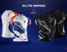 Akquire Clothing Co. - Esports Team Jersey Designs on Behance Rugby Jersey Design, Jersey Designs, Shirt Designs, Sport Shirt Design, Team Logo Design, Sports Shirts, Sports Logos, Jersey Uniform, E Sport