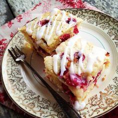 """Cranberry Orange """"Buttermilk"""" Breakfast Cake. (Grain/Gluten/Dairy Free)"""