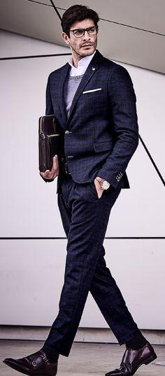 Kleidung & Accessoires Herrenmode Romantisch Grauer Anzug 100% Schurwolle 130 Größe 52