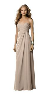Champagne & Neutral Colored Bridesmaid Dresses | Weddington Way
