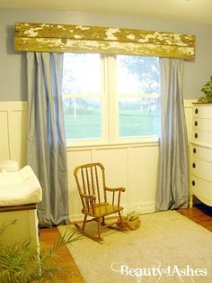 Wanting the perfect rustic touch to finish off my son's nursery, my hu…