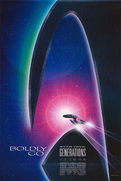 Star Trek Generations Movie Poster - Internet Movie Poster Awards Gallery