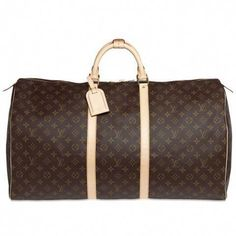 8d2c6542eca4 Louis Vuitton Keepall 60 - I am going to need this bag SOON! I plan on  travelling.