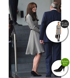Fresh outfit of Kate Middleton from dejamoda.com
