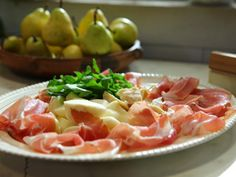 Antipasto PPP ~ Prosciutto, Pera e Parmigiano | Donato De Santis | #donatodesantis #cucinaparadisoba