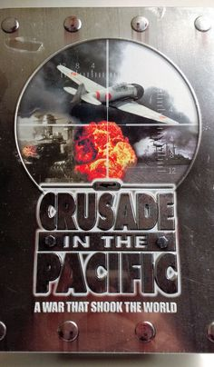 Crusade In The Pacific WWII History Pearl Harbor Hiroshima Japan 5 CDs Tin Case
