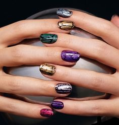 Mosaic Effects Top Coat CRACKLE-NAIL LOOK