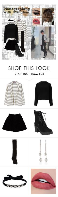 """Photographing with Minghao"" by maeko-ng711 on Polyvore featuring Beacon House, MANGO, Miss Selfridge, Opening Ceremony, A Détacher, DANNIJO, modeling and couplescostumes"