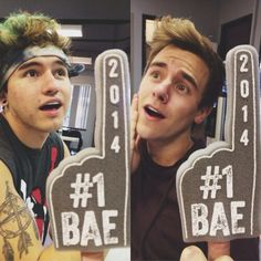 #1 Bae . Jc Caylen and Connor Franta