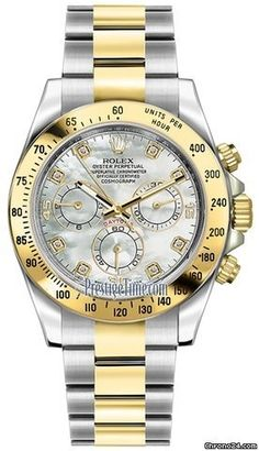 Rolex Cosmograph Daytona Stainless Steel and Yellow Gold