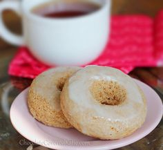 krispy kreme doughnuts - the healthy version... Just made these!