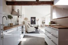 Kitchen cupboards - specifically the legs and space underneath.