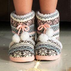 Cherokee Girls Slipper Boots