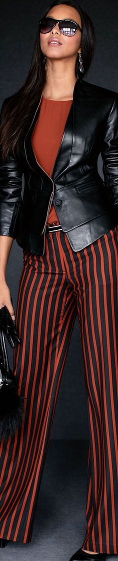Madeleine Striped Trousers