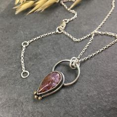 Amethyst 💜 set in sterling silver with gold granules. Handmade with love from top to toe! Amethyst Necklace, Amethyst Pendant, Pendant Necklace, Top To Toe, Rocks And Minerals, Stone Pendants, Jewelry Branding, Deep Purple, Sterling Silver Necklaces