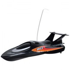 $40.96 3372 27GHz High-powered High-speed Airship R/C Racing Boat - Black
