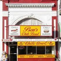 Place I want to visit for a Chili Half Smoke - Washington, DC
