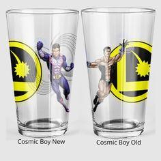 Cosmic Boy, Pint Glass, Beer, Root Beer, Ale, Beer Glassware