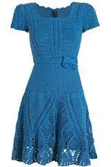 vestidos de croche com grafico - Pesquisa Google