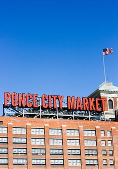 Atlanta's on the rise! Sharing my first Ponce City Market experience - spoiler alert - it was a good one :)