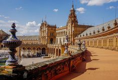 Plaza Espana a must-see in Seville Spain - GiddenFace - #travel #photography #adventure #amazing #beautiful