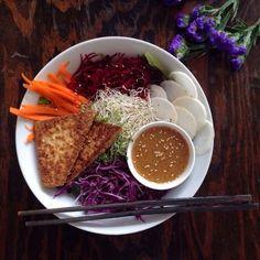 Aux Vivres Dragon Bowl  Recipe Brooklyn Vegetarian