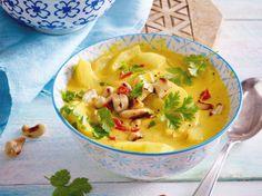Unser beliebtes Rezept für Schmorgurken-Curry und mehr als 55.000 weitere kostenlose Rezepte auf LECKER.de.