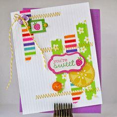 Card-Blanc by Kathy Martin: Handmade Cards