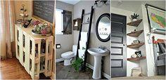 17 Proiecte uimitoare pe care le poti pune singur in aplicare Bude, Entryway, Cabinet, Storage, Diy, Furniture, Home Decor, Funguje To, Budapest