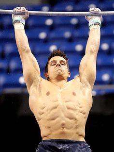 USA Olympic Gymnast Chris Brooks