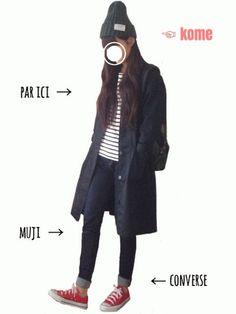 GUのMEN ⁄ キャップ・ハット「(GU)ニットキャップA」を使ったtumのコーディネートです。WEARはモデル・俳優・ショップスタッフなどの着こなしをチェックできるファッションコーディネートサイトです。