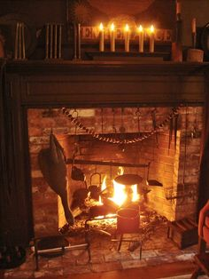 Primitive fireplace                       ****