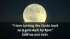 Why do we have to still change the clocks?