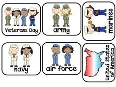 Veterans Day {English and Spanish}