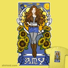The Girl Who Waited (Amy under a Van Gogh sky)