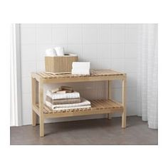 $39.99 - bench for #5 and #6 bedrooms  IKEA - MOLGER, Bench, birch,  ,