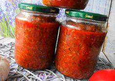 Cukinia w Sosie Pomidorowym do Słoików na Zimę główne zdjęcie przepisu