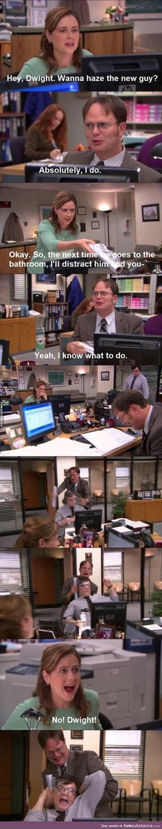 I love this scene Parks N Rec, Parks And Recreation, Dundee, Office Jokes, Funny Office, The Office Show, Collateral Beauty, Office Pictures, Dunder Mifflin