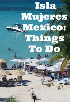 Isla Mujeres, Quintana Roo State, is an ideal family beach vacation destination. As we quickly realized, the best way to do this was to rent a golf cart and explore. From the moment we set foot on the island, we were offered golf cart rental from a number of authorized rental companies surrounding the main pier, when walking to dinner along the main street, and from our hotel concierge.  #mexico #beach #vacation #playanorte #familytravel #ocean