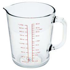 Wilko Measuring Jug Glass 1L
