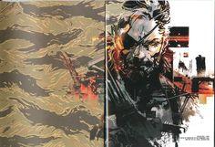 Yoji Shinkawa - Metal Gear Solid V Artbook