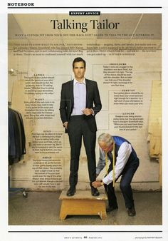 Notes on a suit | How to be a Gentleman | Pinterest