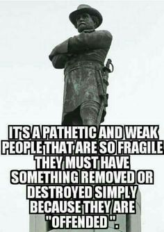 Nazi's took down statues that offended them. Dems ate taking down Civil War statues because they are offended.FASCISM in America! Pursuit Of Happiness, Liberal Logic, Liberal Tears, Conservative Politics, God Bless America, That Way, American History, How To Remove, Facts