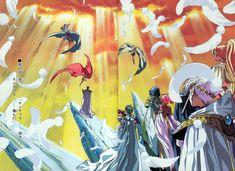 Magic Knight Magic Knight Rayearth Hikaru Umi Fuu