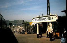 Photos of Sheung Shui Railway Station [? History Of Hong Kong, British Hong Kong, China Hong Kong, Public Transport, Back In The Day, Cool Photos, Past, Nostalgia, City